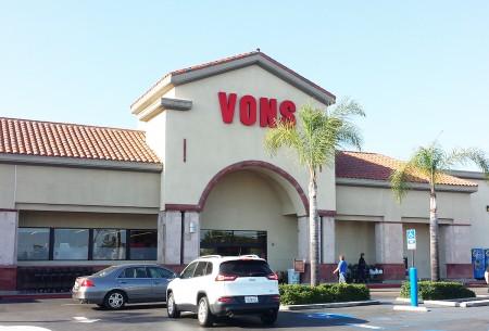 加州聖地亞哥一家Vons食品店。(楊婕/大紀元)