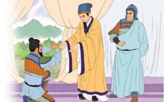 诸葛亮收服孟获(志清/大纪元制图)