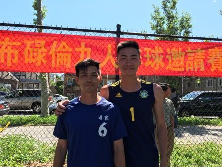 李颂光会长(左)和Gavin Li。