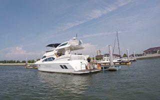 布袋海上新活动 豪华游艇奔驰布袋澎湖