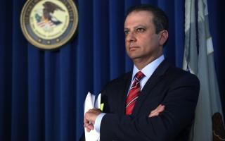 震荡纽约政商界的铁面检察官巴拉拉。 (Spencer Platt/Getty Images)