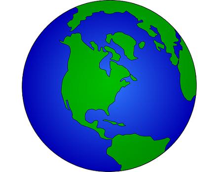 日前,加拿大安大略省一家人就地球是圓的還是扁的激烈爭論起來,結果引發火災。(pixabay)