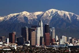 洛杉矶市景。(大纪元)
