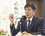 知名中醫博士李有甫先生,闡述道德與養生關係,深受歡迎。(余鋼/大紀元)