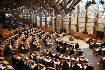 2016年7月2日,女王在苏格兰议会第五次开幕的时候发表演说。(ANDREW MILLIGAN/AFP)