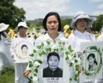 一位站在美国国会山前的中国女士的心愿