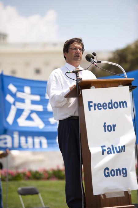 7.22華盛頓DC集會,呼籲停止迫害法輪功
