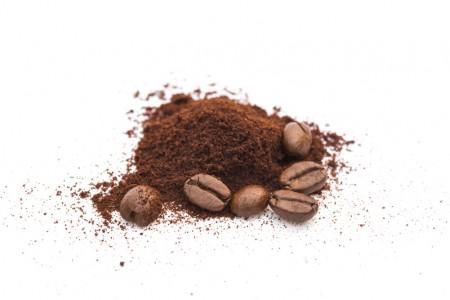 咖啡豆和粉末(fotolia)