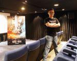 台灣電影特效藝術家JC_LIN參與2016年電玩改編電影巨作《魔獸:崛起》之特效製作,於環球影業台北分公司拍攝。(林可文提供)