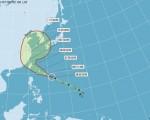 台湾中央气象局表示,今年第1号台风尼伯特已于7月6日凌晨2时增强为强烈台风。(取自中央气象局网站www.cwb.gov.tw)