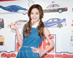 艺人曾之乔7月6日在台北出席公益活动。(陈柏州/大纪元)