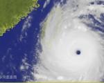 挟带暴雨的超级台风尼伯特来势汹汹,外媒报导,当尼伯特穿越台湾时,恐怕为中部地区带来累计将近1000毫米的雨量。(取自中央气象局网站 cwb.gov.tw)