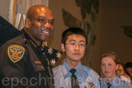 舊金山警局夏令營結業 華裔學子成績優異