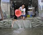 組圖:十張圖片看中國南方水災