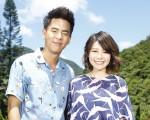 柯有倫(左)邀請師妹林明禎一起對唱情歌並拍攝MV。(種子音樂提供)