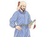 李自成(绘图:古瑞珍/大纪元)
