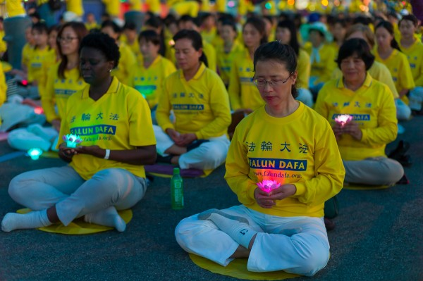 7.20 Falun Gong Candlelight Vigil in Manhattan, NYC, July 20, 2016.