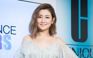 艺人Selina(任家萱)7月21日在台北出席美妆活动。(陈柏州/大纪元)