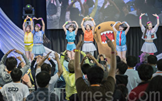 7月23、24日,日本流行文化節(J-Pop Summit)在舊金山的Fort Mason Center舉行,有5萬人左右到場。(曹景哲/大紀元)