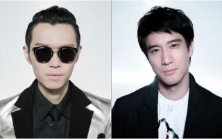 方大同(左)和王力宏合作打造新曲。(赋音乐/大纪元合成)