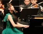 台灣15歲少女巫熹芸在德國 EUREGIO 國際鋼琴大賽勇奪少年組冠軍。(巫熹芸臉書)