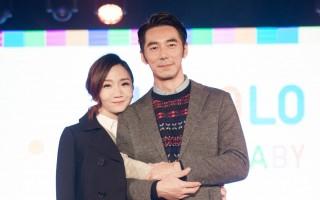 陶晶莹(左)与李李仁甜蜜合照。(陈柏州/大纪元)