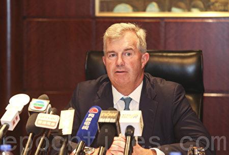 德意志資產管理亞太區投資主管Sean Taylor並表示,看好亞洲區內股市及高收益政府債,如印度、印尼及澳洲等。(余鋼/大紀元)