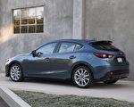 Mazda3 掀背車贏得 Strategic Vision 全面品質大獎。(大紀元資料圖片)