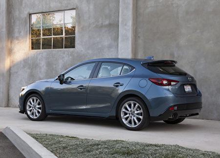 Mazda3 掀背车赢得 Strategic Vision 全面品质大奖。(大纪元资料图片)