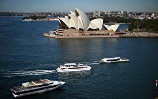 悉尼港口的輪渡(Ferry )(SAEED KHAN/AFP/Getty Images)