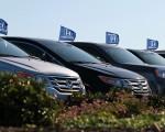 美国政府今天敦促本田旧款汽车车主停止驾车,直到安全气囊问题修复为止。 (Justin Sullivan/Getty Images)
