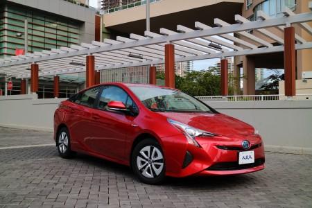 2016 Toyota Prius。〈李奥/大纪元〉