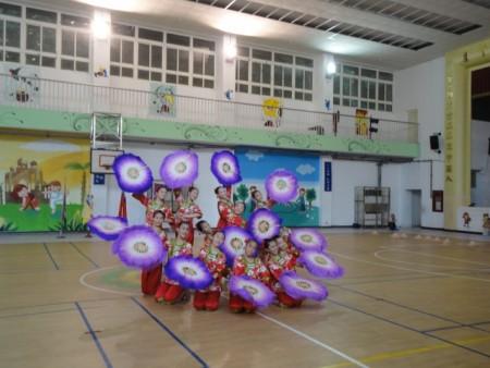 楓香舞蹈團受邀今年中元祭的開幕表演,精彩預演備受肯定。(陳秀媛/大紀元)