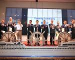 """亚洲10个国家、200名国际邮轮及产官学界代表聚集台中参与为期四天的""""2016亚洲邮轮论坛""""盛会。(台中市政府提供)"""