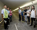 """火车站地下道""""转运"""" 将成现代感廊道。(新竹市府提供)"""