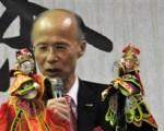 前驻法大使吕庆龙8年半的驻法期间,从文化切入推动台法双边外交,用布袋戏行销台湾大获好评。(吴美蓉/大纪元)