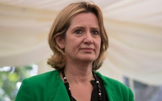 英國內政大臣安珀•拉德(Amber Rudd) ( Dan Kitwood - WPA Pool/Getty Images)