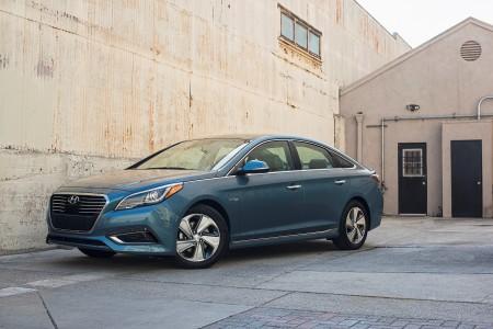 2016 Hyundai Sonata Plug-in Hybrid。〈Hyundai图片〉