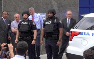 暴力事件頻發 紐約警局砸大錢添裝備