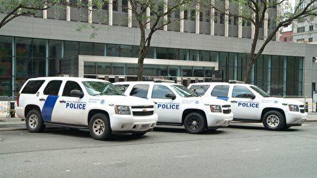 纽约移民法庭所在的联邦大楼。