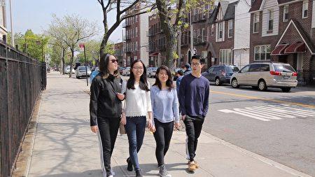 4个好朋友即将各奔前程,左起:康薇薇、李淑铃、伍巧仪、周康贤。