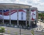 美国俄亥俄州克利夫兰共和党2016 全国代表大会的外场布置( Angelo Merendino/Getty Images)