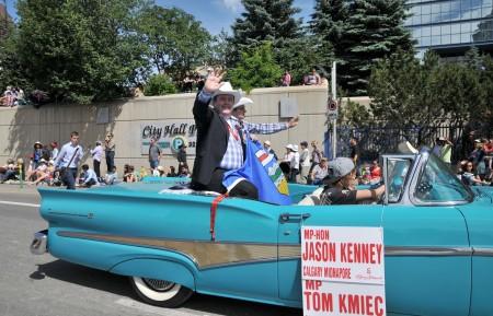 国会议员,前移民部长Jason Kenney。(黄钟乐/大纪元)