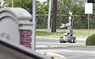 达拉斯狙击手袭警案 美开先例用炸弹机器人