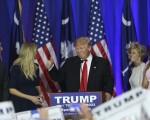 7月19日,川普在共和党全国代表大会正式获得总统候选人提名。(Photo by Spencer Platt/Getty Images)