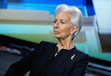國際貨幣基金組織總裁拉加德於4月8日在紐約市。(John Lamparski/Getty Images)