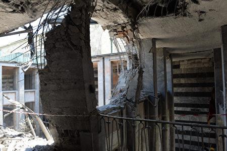 7月16日,土耳其政变过后,街上的断壁残垣。 (Erhan Ortac/Getty Images))