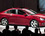 3月31日紐約國際汽車展上展出的雪佛萊科魯茲RS新車型。(Steve Fecht/General Motors via Getty Images)