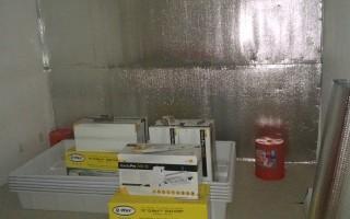 租客密封门窗,疑似准备种植大麻,引起房东警觉。(黄先生提供)