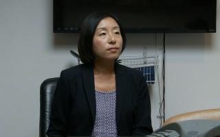 律師崔貴香表示員工確實被壓榨後提告的勝訴機率達九成。(劉寧/大紀元)